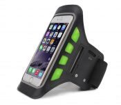 Sportarmband till iPhone 6/6s med LED-lampa